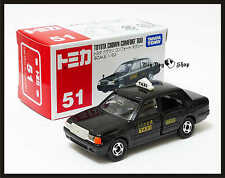 TOMICA #51 TOYOTA CROWN COMFORT TAXI 1/63 TOMY DIECAST CAR NEW