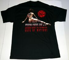 KISS Band Psycho Circus Tour Gothenburg Sweden Concert T-Shirt 1999 XL UNWORN