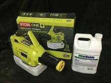 Ryobi One+ 18 Volt  Cordless Chemical Fogger Mister Disinfection Package.