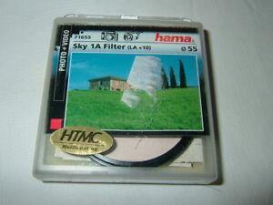 HAMA 71637 ~  Sky 1A Filter ~ 37mm ~  HTMC ~ UV Absorber LA+10  .... (F9)