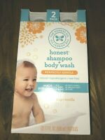 Honest Shampoo and Body Wash 17oz 2-pack Ships Worldwide Jumbo Safe Gentle NEW