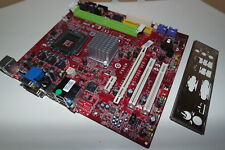 MSI MS-7366 Ver 2.0 P6NGM Mainboard PCIe, VGA, LGA 775, m. Portblech, Gewährleis