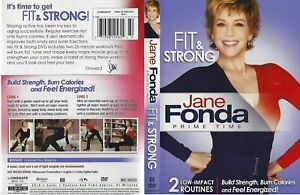 Jane Fonda Seniors Fit & Strong 2 Low-Impact Routines Workouts DVD