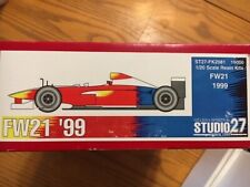 Studio 27 1/20 Williams FW21 '99  (FK2081) Zanardi / R. Schumacher