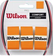 Wilson Pro confort OVERGRIP Quemador naranja sobre Agarre Para Tenis, padel
