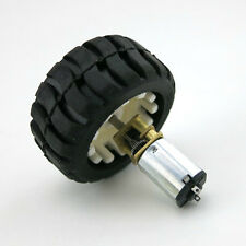 Best uk N20 Micro Gear Motor with Rubber Wheels 6V For Robot Smart Car HOT SALE