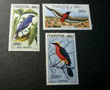 Mali Stamp Scott# C2-C4 Birds 1960  MNH   C521