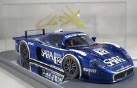 MASERATI MC12 GT1 #12 SARAFREE GT ITALIA 2006 signed Toni Vilander 300p BBR 1:43