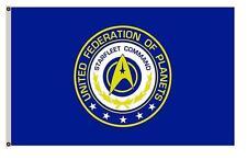 3 x 5 STARFLEET Command Flag Star Trek Voyager DS9 Solar Trump Polyester
