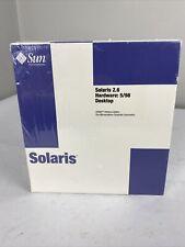 SUN MICRO SYSTEMS SOLARIS 2.6 HARDWARE 5/98 SERVER SPARC PLATFORM EDITION