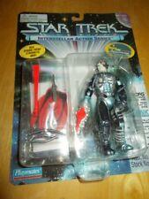 "1995 Mint Nrfb Star Trek Playmates 4 1/2"" Borg ~ Accessories & base"