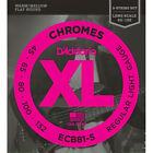 D'Addario ECB81-5 Chromes Soft 45-132 - Jeu de cordes guitare basse 5 cordes fi