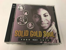 TIME LIFE Solid Gold Soul 1969 1972 2 CD Jackson 5 Temptations Supremes RARE