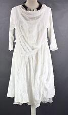 STUNNING GERMAN  CHAMPAGNE LAGENLOOK parachute dress LARGE  white