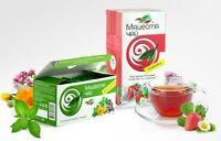 2 PC/ Russian Krasnodar Herbal Berry Infusion Green + Black Tea, Bagged, Natural