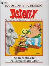 Asterix Werkedition mit Lexikon Band 17+18: Die Trabantenstadt / Lorbeeren / Z 1
