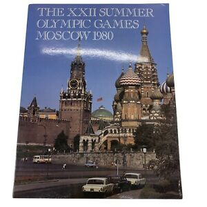 The XXII Summer Olympic Games Moscow 1980 Guide Book Magazine Stats