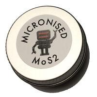 Micronised Molybdenum Disulphide MoS2 1.5 Micron Powder lubricant 8g 10ml