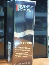 BIOTHERM HOMME FORCE SUPREME GEL SOIN ANTI-AGE 50ML REACTIVATEUR INTEGRAL