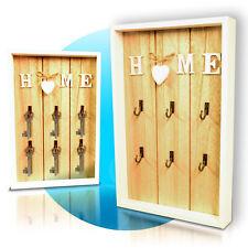 Schlüsselkasten Schlüsselbox Schlüsselschrank Holz Shabby Home Deko offen