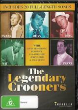 THE LEGENDARY CROONERS - LOUIS ARMSTRONG - FRANK SINATRA - DVD  FREE LOCAL POST