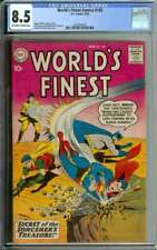 WORLD'S FINEST COMICS #103 CGC 8.5 OW/WH PAGES // CURT SWAN + STAN KAYE COVER