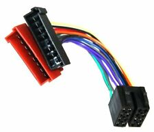 Aerzetix adaptador Aa3 con ISO cables enchufes para Autoradio