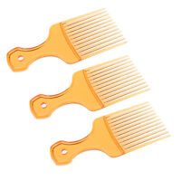 3x Afro Comb Curly Brush Salon Hairdressing Flexible Long Tooth Styling Pick