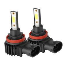 H11 LED Headlight Super Bright Bulbs Kit 330000LM HI/LO Beam 6000K New US