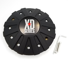 KMC XD Series Matte Black Wheel Center Hub Cap for XD 778 Monster 846L215B