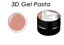 3D Gel Pasta Lovely Cacao Color Volume Texture Nail Art