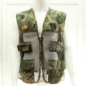 Nothwest Territory Camouflage Hunting Vest Game Pouch Lightweight Mens Size XL