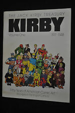 Jack Kirby Treasury VOl #1 1917-1948 FIfty Years of Art - (1982) ITB WH