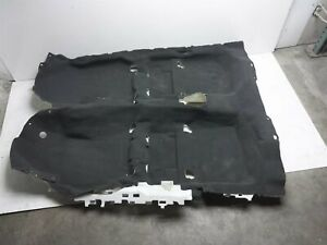 2017 Subaru Legacy Front Floor Mat Interior Carpet 95011Al00avh Black