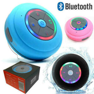 Waterproof LED Bluetooth Wireless Speaker Shower Portable For Samsung iPhone LG