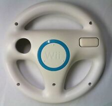 Official Nintendo Wii Steering Wheel for Mario Kart & Racing Games - White