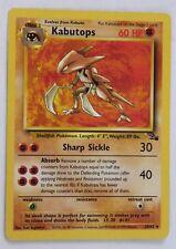Kabutops 24/62 Pokemon Card Rare Fossil Set MINT CONDITION go ed bw 1st