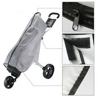 Durable Golf Cart Tour Bag Stand Bag's Cloud Burst Rain Cover Water Proof Gray