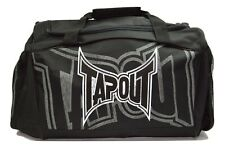 TapouT Mma Black Duffle Gear Bag