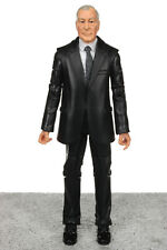 "DC The Dark Knight Rises Movie Masters ALFRED PENNYWORTH 6"" Action Figure Mattel"