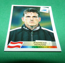 N°148 ANDREAS HERZOG ÖSTERREICH PANINI FOOTBALL FRANCE 98 1998 COUPE MONDE WM