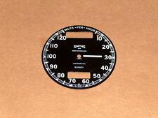 Triumph BSA Norton Smiths Chronometric Speedometer Face S608