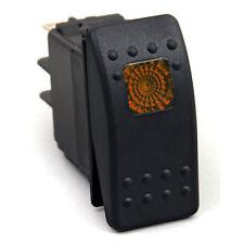 Waterproof On/Off Rocker Switch 12V LED RV Camp Trailer Motor Home Coach Orange