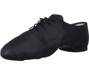 BLOCH MEN'S SHOES 7.5 US ULTRAFLEX SUEDE SPLIT SOLE DANCE BLACK LEATHER NEW NWT