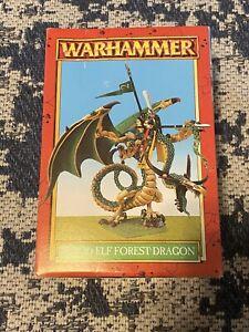 Warhammer Fantasy WOOD ELF FOREST DRAGON UNUSED RARE COMPLETE
