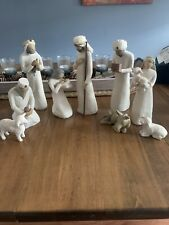 New ListingWillow Tree Nativity Set 9 Pieces
