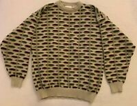Cogi Collection Mens XL Coogi Style Sweater Hip Hop Biggie Cosby Ugly Vintage 90