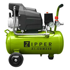 Zipper ZI-COM24 Kompressor 8 bar  Motor 1,5 kW Kessel 24 ltr.  2 Manometer