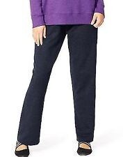3d72ae10db2e3 Just My Size ComfortSoft Ecosmart Fleece Open-hem Women s Sweatpants 2xl Petite  Navy Heather 20