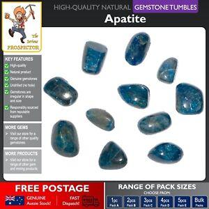 Apatite Gemstone Tumbles | Natural Blue Gem Stone | Crystal | Tumbled Polished